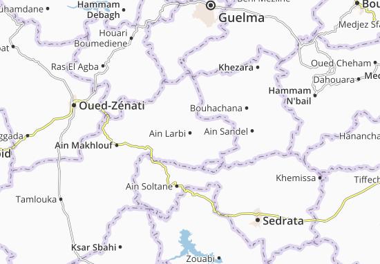 Carte-Plan Ain Larbi