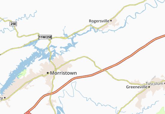 Whitesburg Map