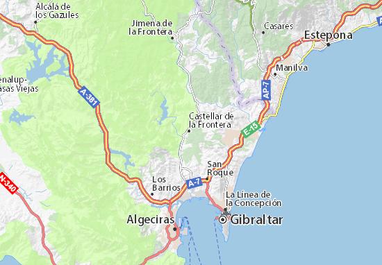 Mapas-Planos Nuevo Castellar