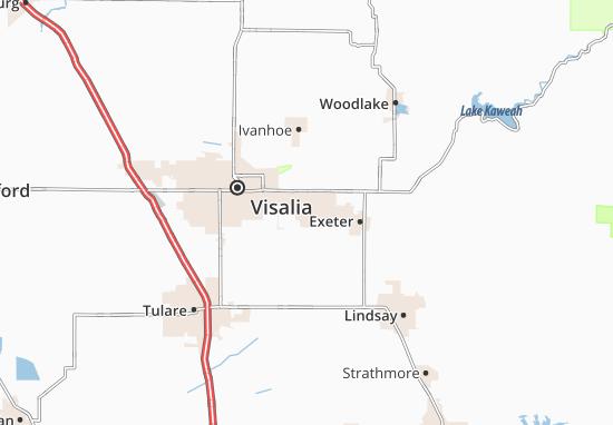 Farmersville Map