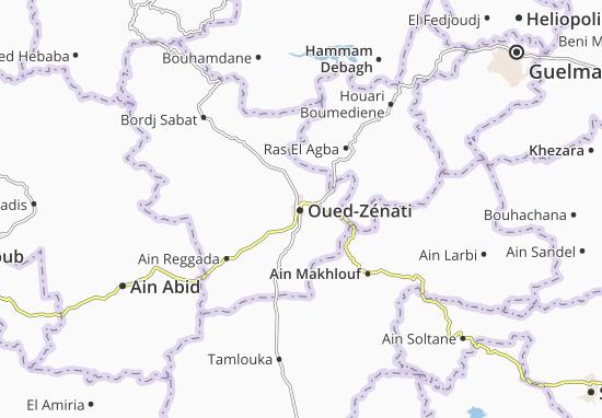 Carte-Plan Oued-Zénati