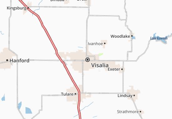 Visalia Map