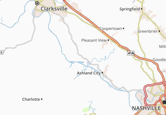 Mappe-Piantine Chapmansboro