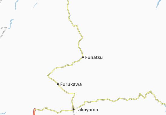 Kaart Plattegrond Funatsu