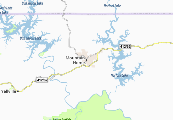 Mountain Home Map