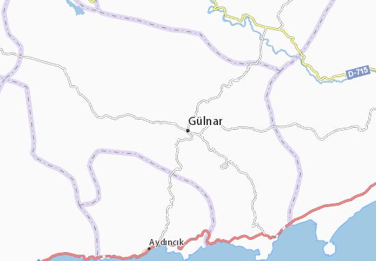 Mapas-Planos Gülnar