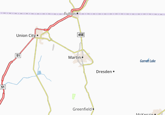 Martin Map
