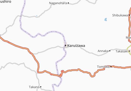 Mappe-Piantine Karuizawa