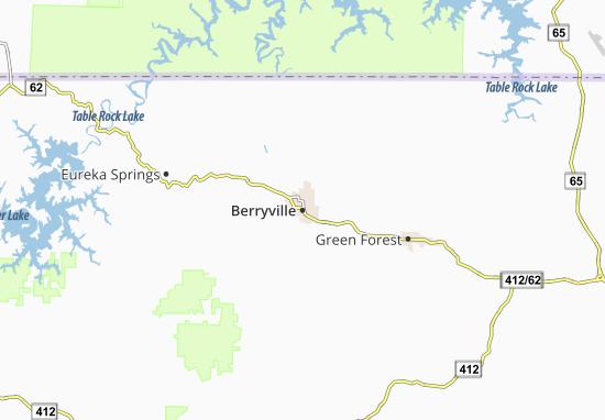 Mapas-Planos Berryville