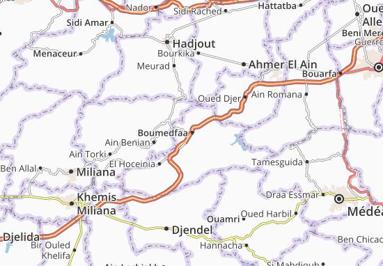 Carte-Plan Boumedfaa
