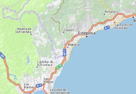 Mapa Plano Manilva