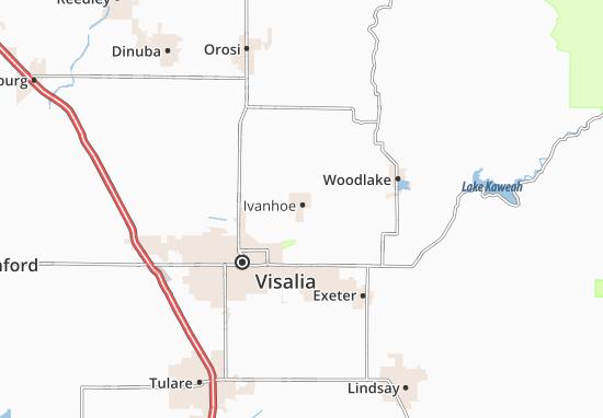 Ivanhoe Map