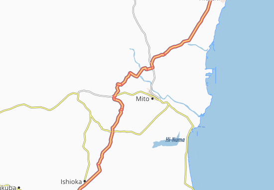 Carte-Plan Akatsuka