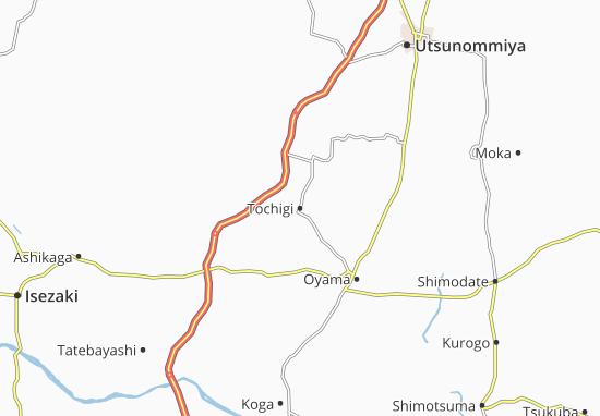 Tochigi Map