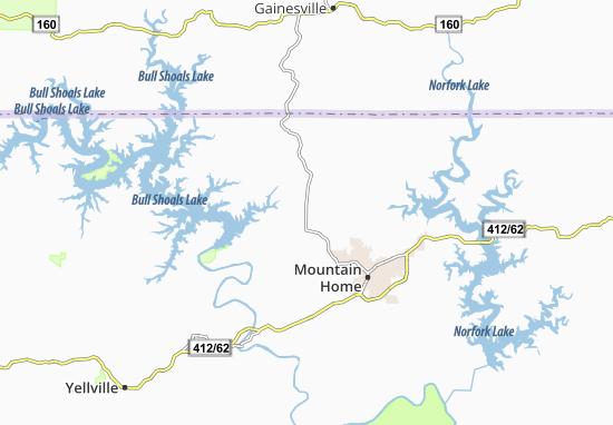 Arkawana Map