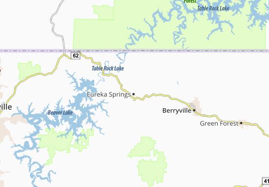 Eureka Springs Map
