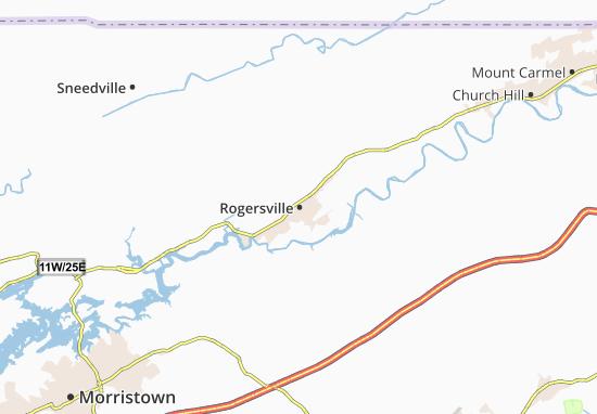 Mapas-Planos Rogersville