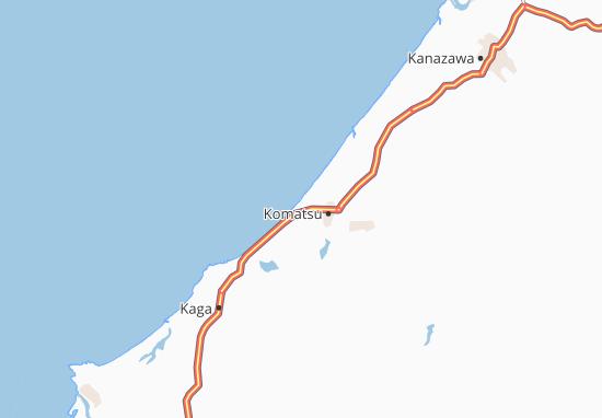 Kaart Plattegrond Atakamachi