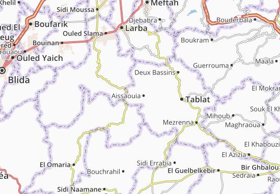 Carte-Plan Aissaouia