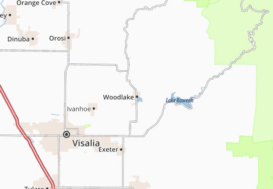 Woodlake Map
