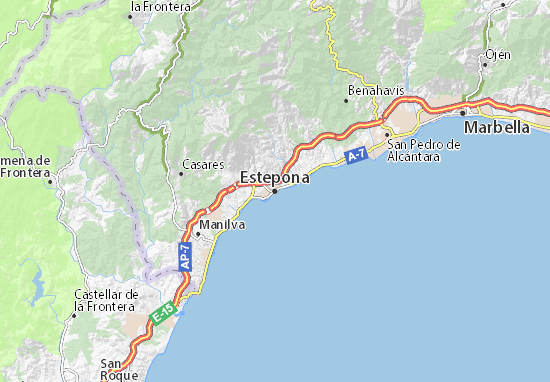 Estepona Map