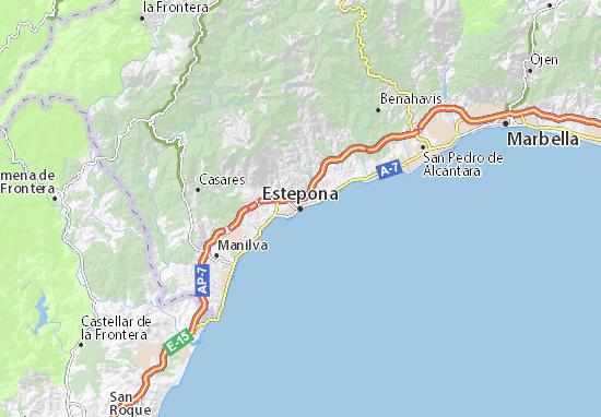 Mappe-Piantine Estepona