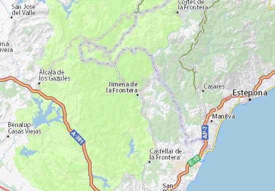 Jimena de la Frontera Map