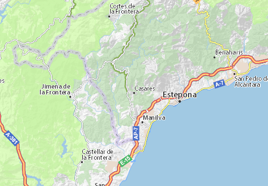 Casares Map