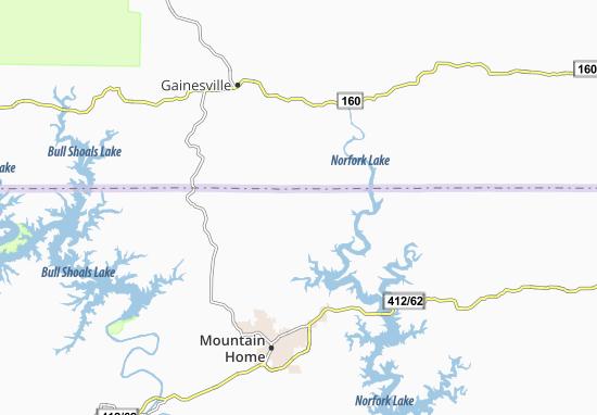 Clarkridge Map