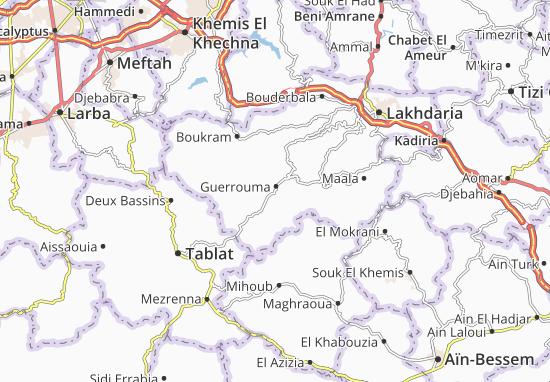 Carte-Plan Guerrouma