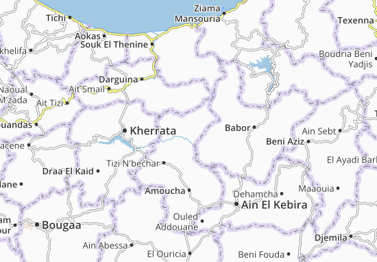 Carte-Plan Oued El Bared