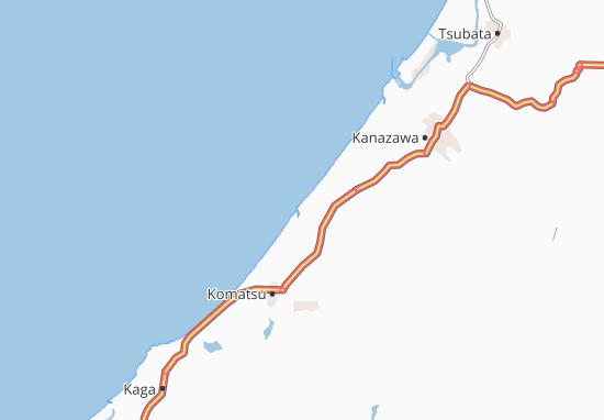 Kaart Plattegrond Mikawa