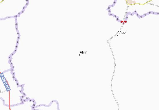 Carte-Plan Afrin