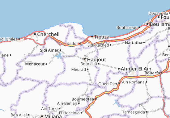 Carte-Plan Hadjout
