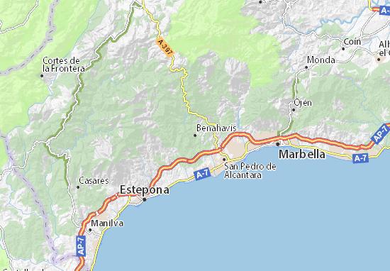 Benahavís Map
