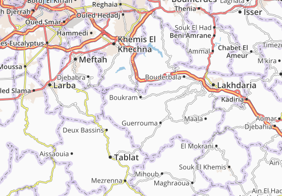 Carte-Plan Boukram