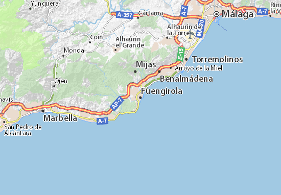 Fuengirola Map