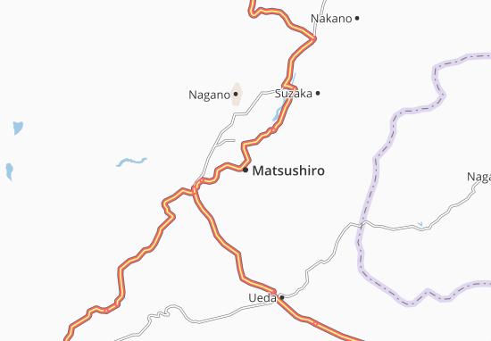 Matsushiro Map