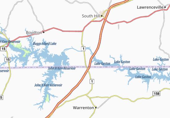 Carte-Plan Palmer Crossroads