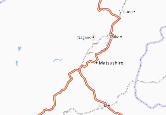 Shinonoi Map