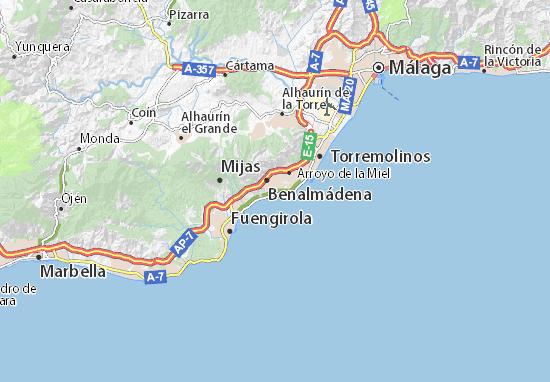 Torremuelle Map