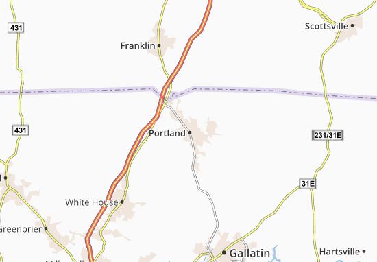 Carte-Plan Portland