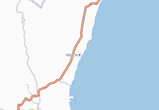 Hitachi Map