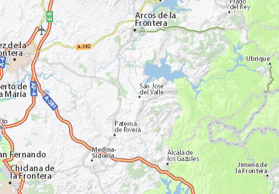 Mapas-Planos San José del Valle