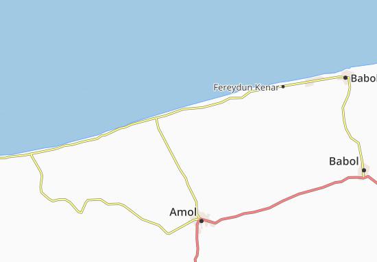 Mapas-Planos Ahi Mahalleh
