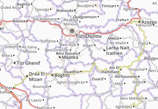 Carte-Plan Beni Douala