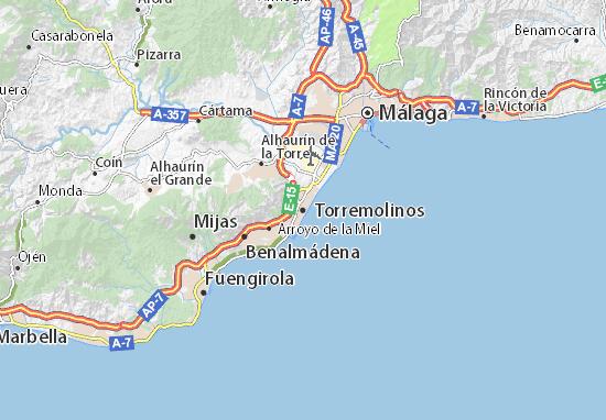 Torremolinos Map