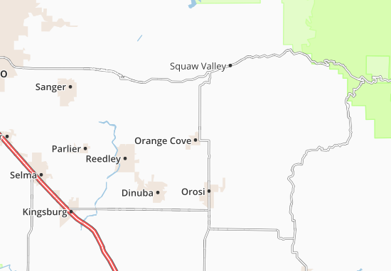 Orange Cove Map