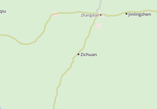Zichuan Map