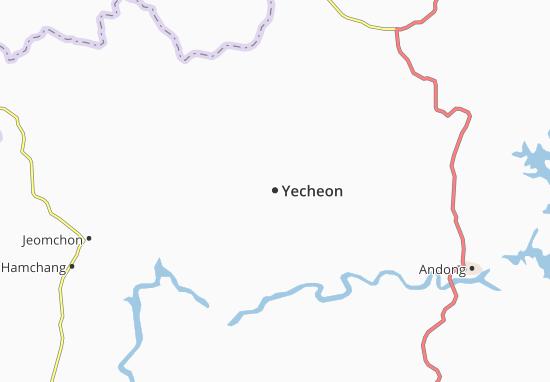 Mappe-Piantine Yecheon